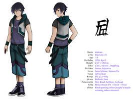 UTAU - Gateau - Character reference by FixelCat