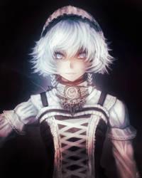 Sakuya Izayoi Gothic Lolita by FixelCat