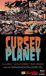 Cursed Planet on Zuda Comics by sobreiro