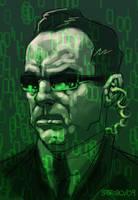 Agent Smith by sobreiro