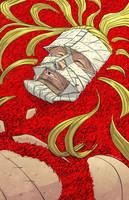 Legend of Luther Strode #6 - Cover by sobreiro