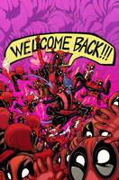 Amazing X-Men #1 - Deadpool Variant - COLOR by sobreiro