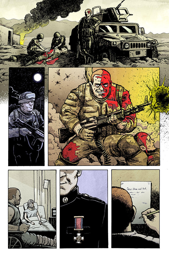Low Spread 13 Pg07 Color by sobreiro