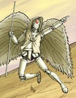 Angel Machina by sobreiro
