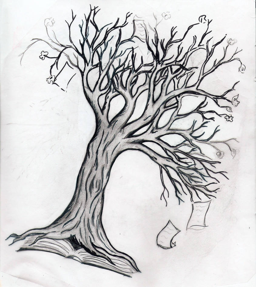 Tree Of Knowledge Tattoo Idea By Allisonjessica On Deviantart