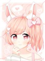 Pink Bunny by Nekuchi