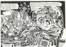 Anu and Inanna - love and sex by talfar