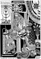 Dingir and his entum (Sumerian Jesus) by talfar
