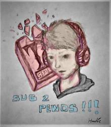 Sub 2 Pewds by JohnnyHoodie