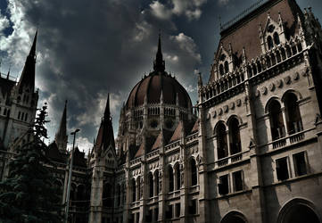 Parlament from Hungary by Lacza