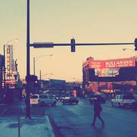 Fullerton and Milwaukee by jonniedee