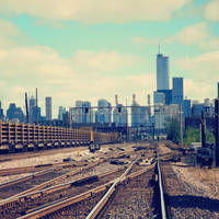 Tracks at Garfield Park by jonniedee