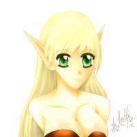 Elf D: by RethseArt