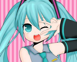 Hatsune Miku: Vocaloid~ by FeatherLetters