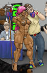 Fisticuff at Comic Con Part 1 by dinsidious1