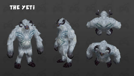 Yeti Monster by Cydel