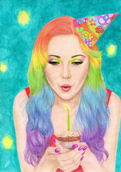 colored pencils by valakh