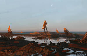 Welcome to Mars Mr. Panchenko by CHERDAK