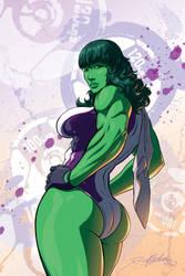 She-Hulk by Darren-Montalbano