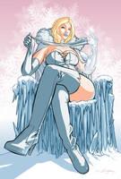 Emma Frost by Darren-Montalbano