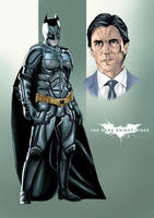 Batman - Bruce Wayne by JawZ270589