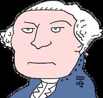 Robot George Washington by dhorlick