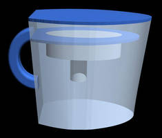 Empty Water Pitcher by dhorlick