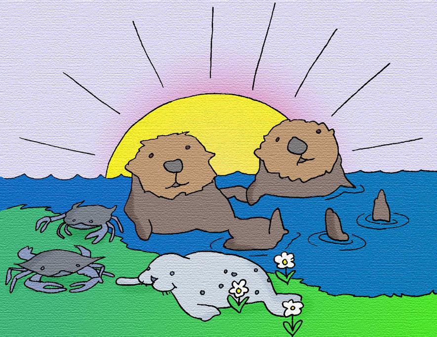 Otter Point Sigil by dhorlick