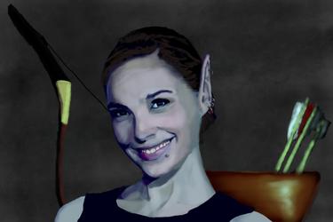Drow Elf (update) by Chabtan