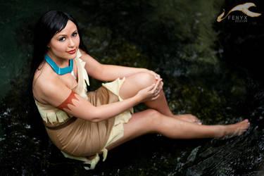 ShawnCon 2012 - Pocahontas   Pocahontas by elysiagriffin