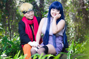 2015 Cosplay   Hinata + Naruto by elysiagriffin