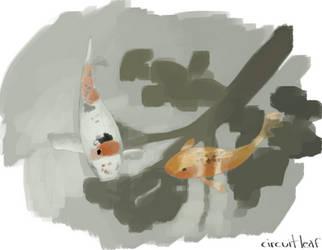 Koi II by circuitleaf