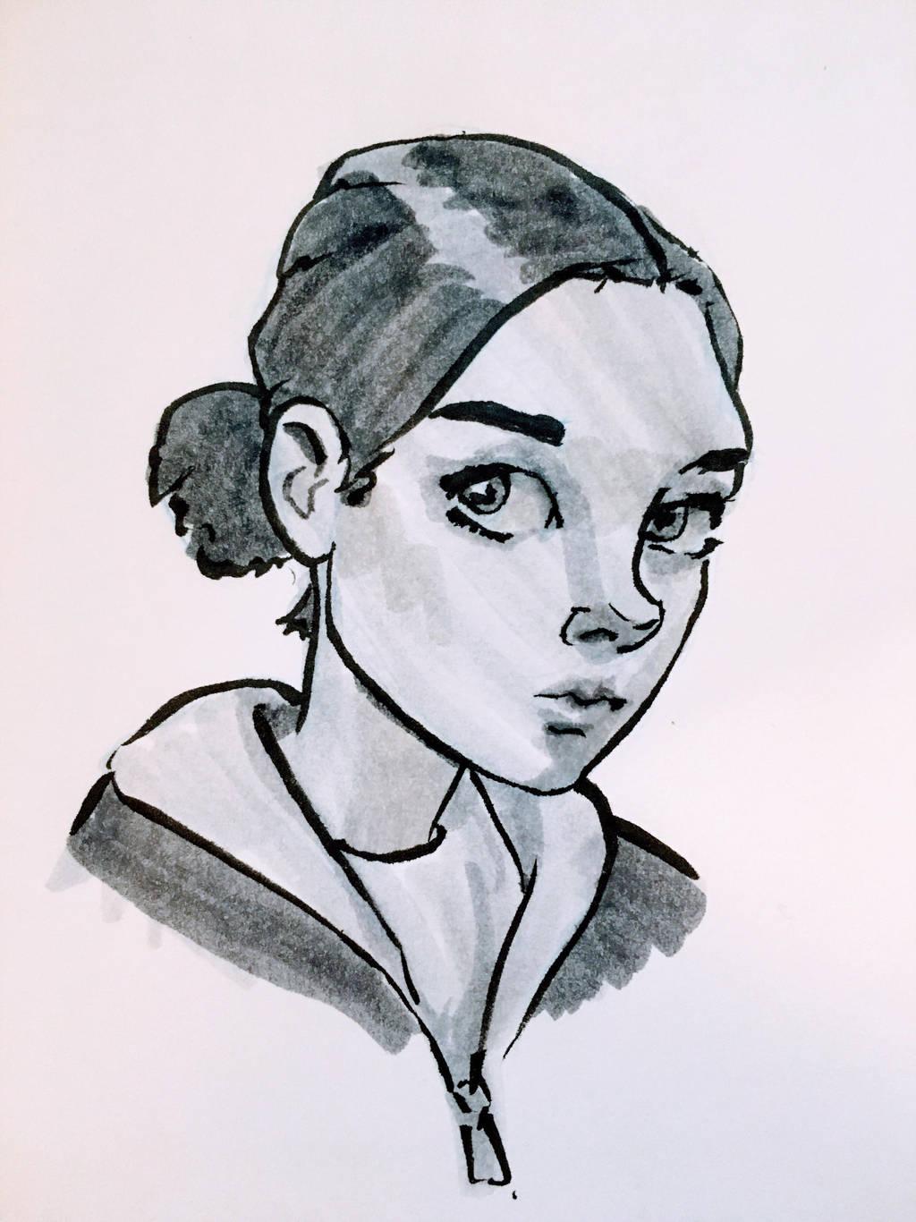 Self Portrait by circuitleaf