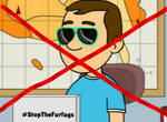 Anti-TTTEAndSpongebobYes FurfagsNo Stamp by BenjiPowerIsaCutie