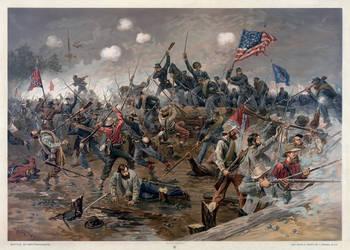 Battle of Spottsylvania by AdamCuerden
