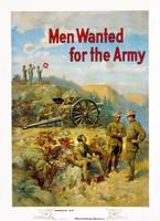 WWI US Army recrt. poster rstn by AdamCuerden