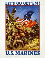 USMC WWII poster restoration by AdamCuerden