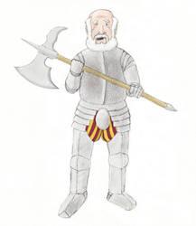 Sir Conrad Caradoc, bart. (final) by AdamCuerden
