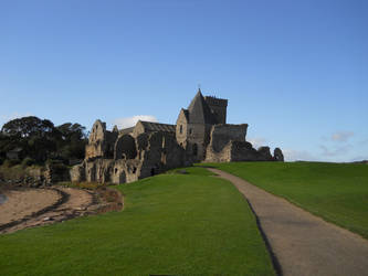 The Road to Inchcolm Abbey by AdamCuerden