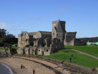 Inchcolm Abbey by AdamCuerden