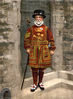 A Yeoman of the Guard, c. 1895, restoration by AdamCuerden