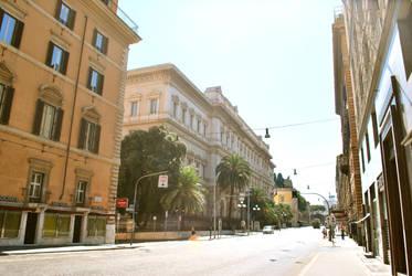 Chaleur sur Rome by criss-deviation