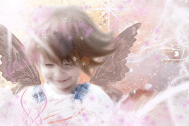 Fairy at Play by Grams-Hope