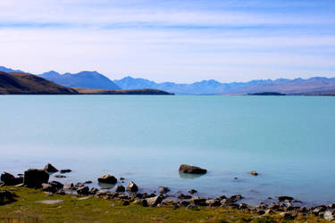 Lake Edge in Blue by MrsSpock