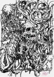 Sludgy Skulls by CallieFink
