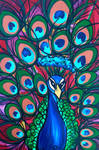 Impervious Mr Peacock by HeatherPeterman