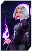 Commission: Kalinde tarot by RedlyJester