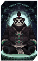 Commission: Monk tarot by RedlyJester