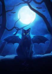 Batty Halloween by LT-Arts