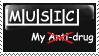 Music stamp by invader-zim-14